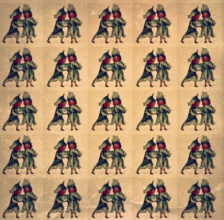 Holly Sprites Paper