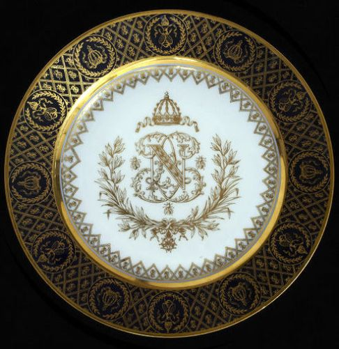 Napoleonic Plate Sevres