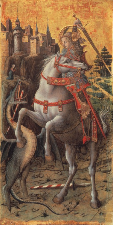 Crivelli Saint George Slaying The Dragon 1470