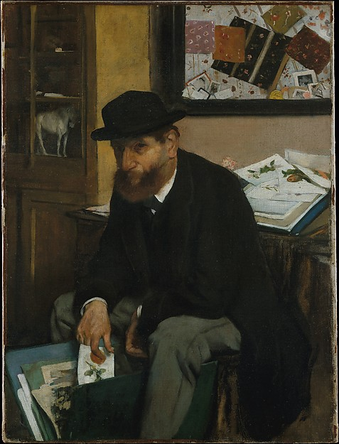 Degas Collector of Prints 1866