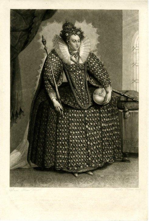 Elizabeth 19th century Oliver de Passe
