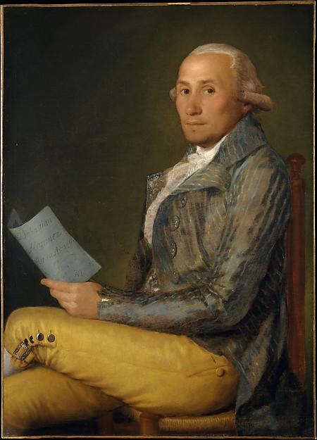 Goya Sebastian Martinez y Perez 1792