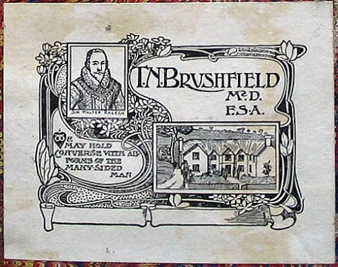 Ralegh Bookplate TM Brushfield
