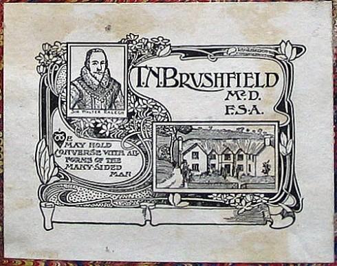 Ralegh Bookplate TM Brushfield