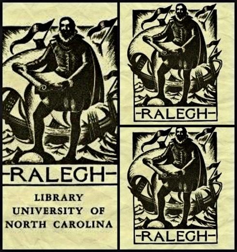 Ralegh Bookplates UNC