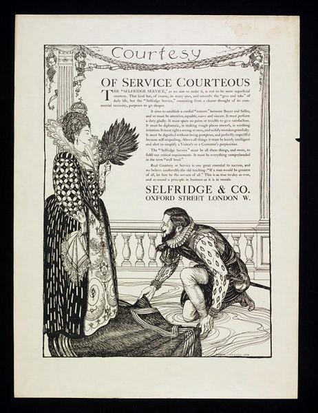 Raleigh 1909 Selfridges Ad