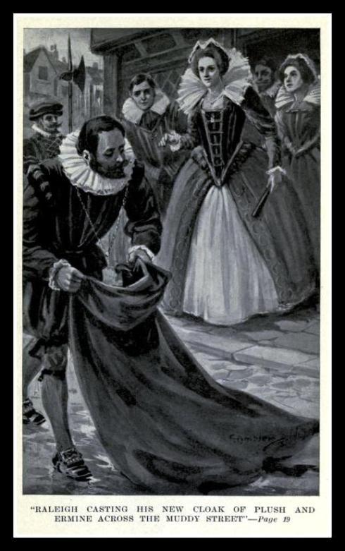 Raleigh's cloak Marshall 1914