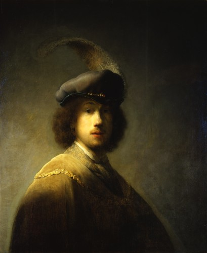 Rembrandt Self Portrait 1629
