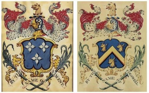 Salem Heraldry Paintings Coles