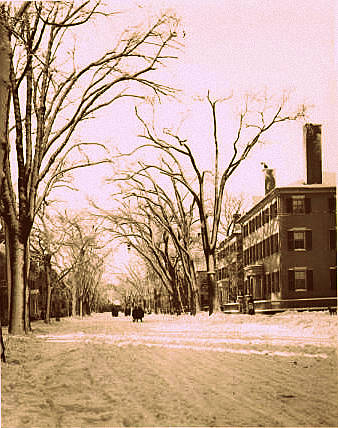 White Out Northend Memories of Old Salem