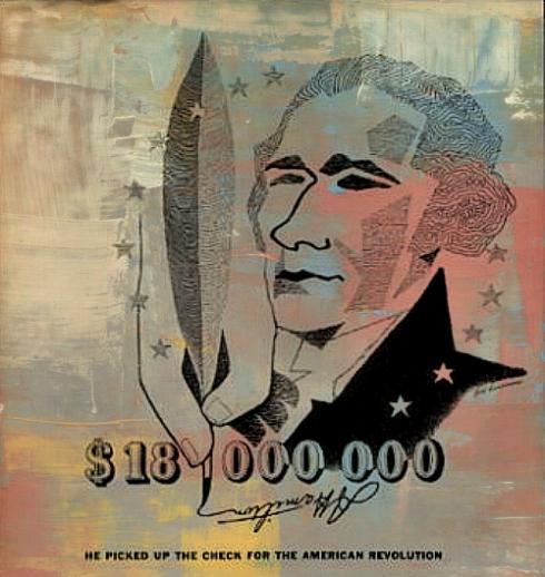 Alexander Hamilton 1957 Rand McNally Ad