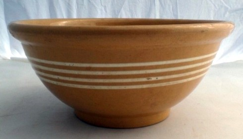 bowl Yellow Ware