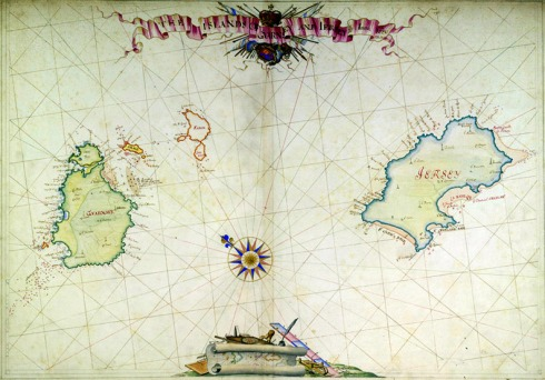 English Channel Islands 1680