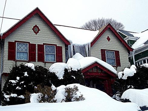 Frozen February Salem