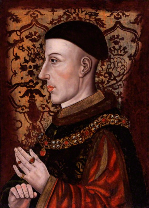 NPG 545; King Henry V by Unknown artist