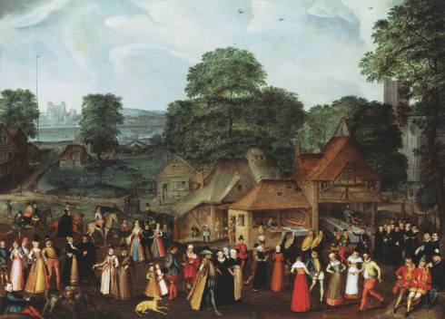 800px-Joris_Hoefnagel_Fete_at_Bermondsey_c_1569