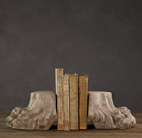 Lion's Paw bookend RH