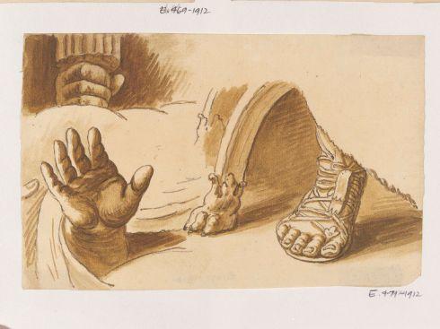 Lion's Paw Raphael