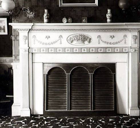 Northend Waters House Mantle