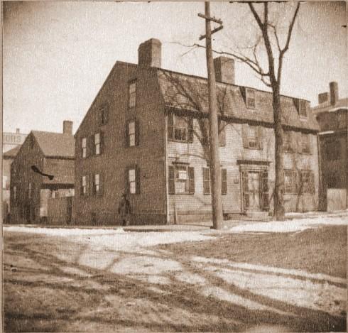 Old House in Salem 1890 BPL