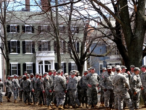 Spring 2015 Muster Salem Common