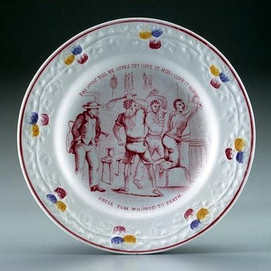 ABC Uncle Tom plate