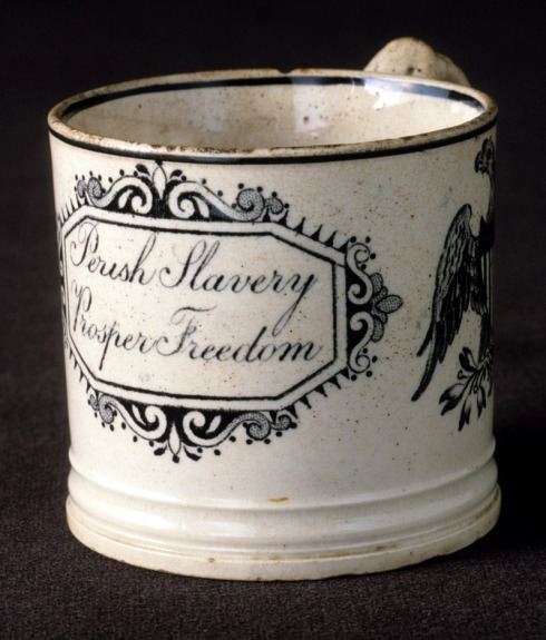 Anti-slavery Mug Winterthur Collection