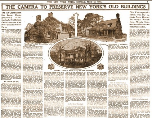 Cousins NYT Article May 1914