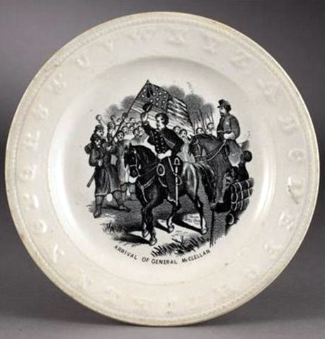 General McClellan Plate Cowan's Auctions
