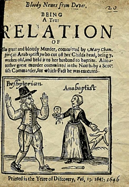 Anti Anabaptist Propaganda 1647