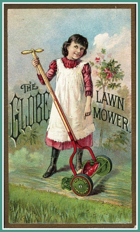 Ladies Lawnmowers 3 DC