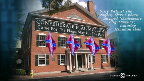 Nightly Show Confederate Flag Museum
