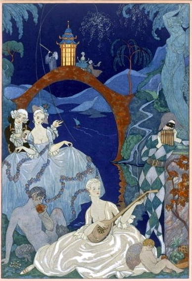 Blue Moon Barbier 1928