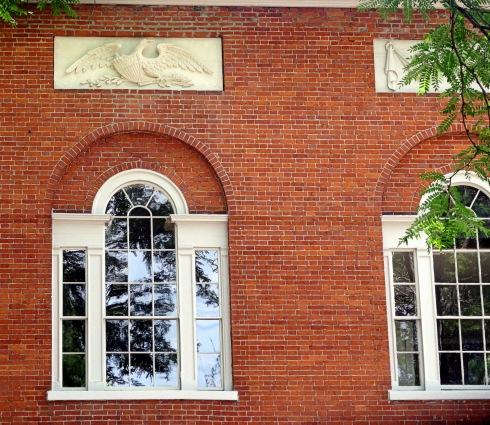 Eagle at Hamilton Hall