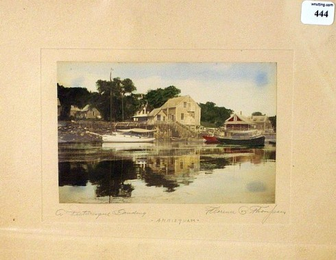 Florence Thompson Annisquam Auction Listing