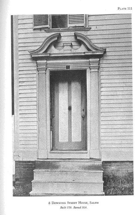 Howells Downing Street Door