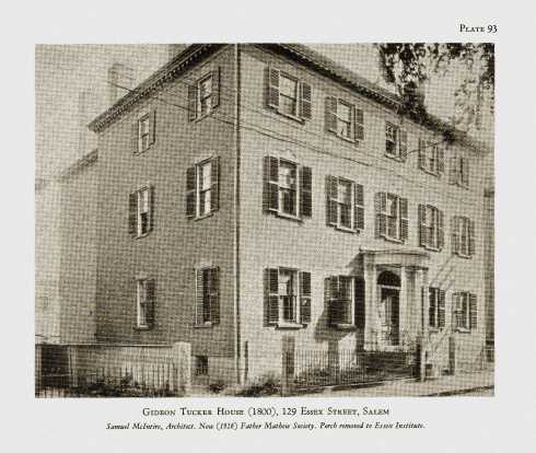 Howells Gideon Tucker House