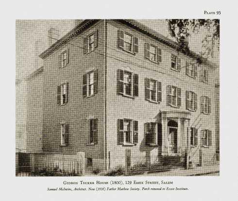 Howells Gideon Tucker House