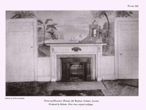 Howells Mantels Putnam Hanson House