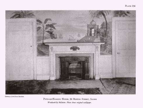 Howells Mantels Putnam Hanson House