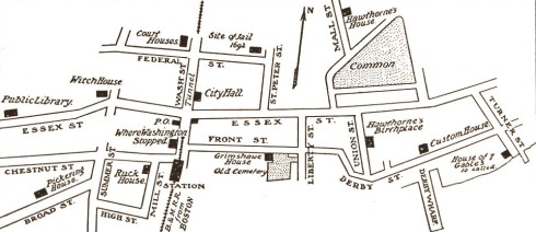 Ruck House Salem Map
