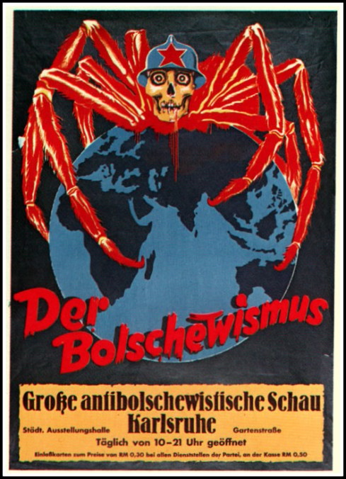 Bolshevik Spider 1935 Hoover Institute