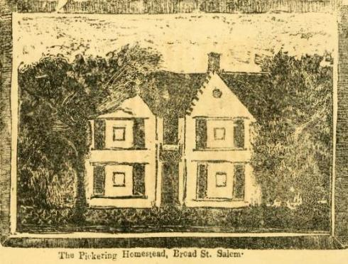 Cook Pickering House Print