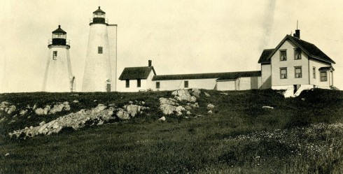 Baker's Island Lighthouses SSU Archives