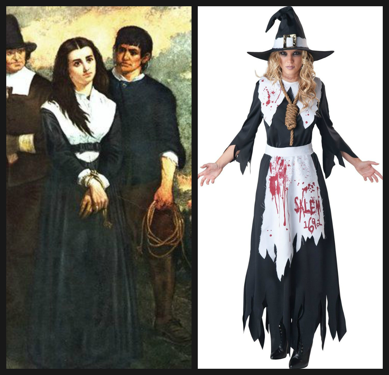 two salem witches - Salem Witch Halloween Costume