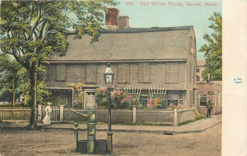 Witch House Salem 1905