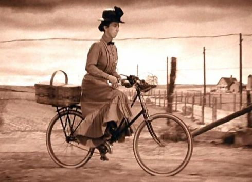 Witch on Bicycle Wizard of Oz