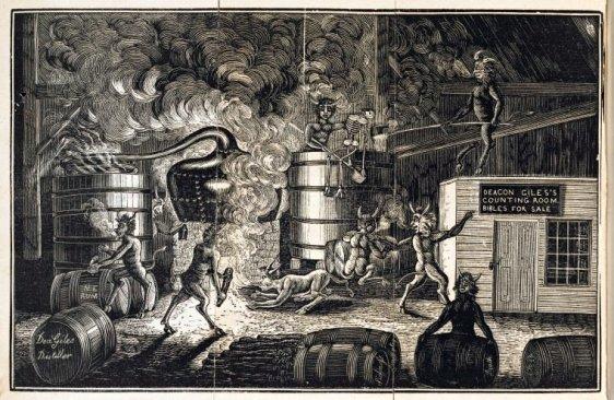 Deacon Giles Frontspiece 1835