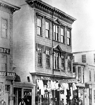 Filene's 1856 Pavilion