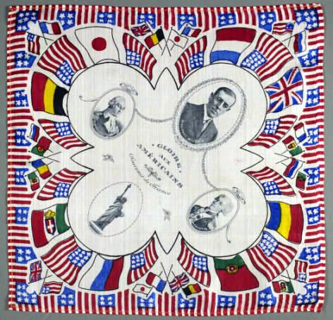 Lafayette Handkerchief Boston Athenaeum